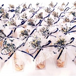 Jel Mum Hediyelik - Naturel - Kutulu - Mavi - Söz, Nişan, Nikah, Doğum Günü, Sünnet, Bebek ve Mevlüt Şekeri